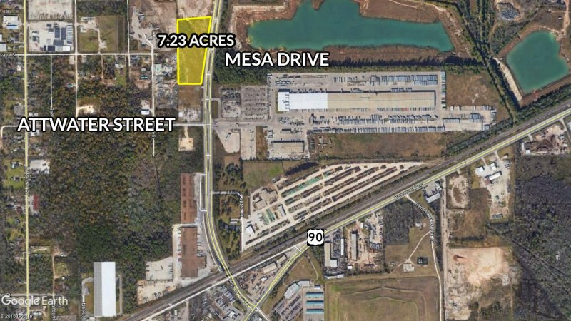 7.23 Acres For Sale in Houston on Mesa Drive
