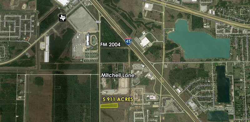 5.911 Acres near I-45 in La Marque